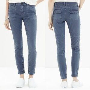 Madewell   Skinny Fatigues in Slate Grey